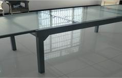 שולחן אלומיניום נפתח 200-320 רוחב 100 0564