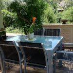 שולחן אלומיניום נפתח1.35-2.70 ללא כיסאות 0568