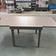 שולחן נפתח 100% אלומיניום במידות 90*90 נפתח ל180 0573