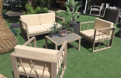 מערכת ישיבה מאלומיניום Beverly Hills 0319