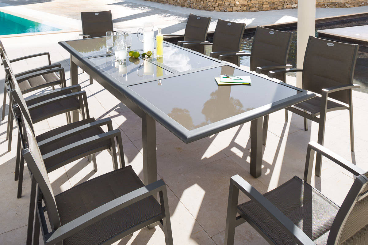 Table De Jardin Carrée Extensible Hesperide