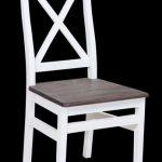 כסא דקורטיבי מעץ מנגו מלא דגם Marseille 1118