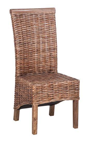 כסא מעוצב מראטן טבעי דגם Pataya 1125