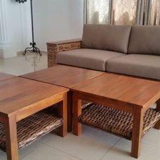 שולחן סלון ריבועי דגם מראקש 1153