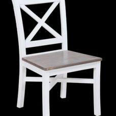 כסא דקורטיבי העשוי מעץ מנגו הידוע בחוזקו דגם Nis 1119