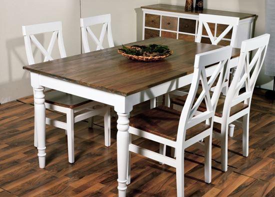 שולחן כפרי מעץ דגם Provance 1137