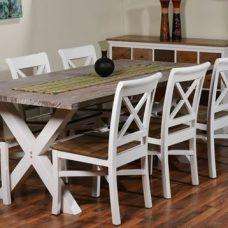 שולחן אוכל מעץ מלא דגם Arthur 1138