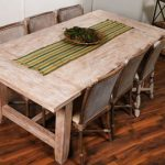 שולחן מפואר מעץ מנגו מלא דגם David 1142