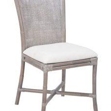 כסא דקורטיבי העשוי מבמבוק וראטן טבעי Alpim 1116