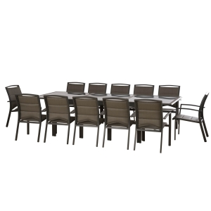 שולחן נפתח +6 כיסאות במידות 200-300X120 0569